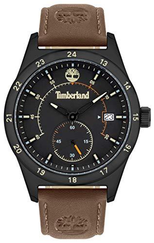 Boyton Herren Uhr analog Quarzwerk mit Leder Armband 15948JYB-02