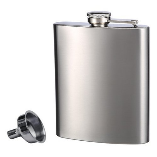 Our #1 Pick is the Top Shelf Stainless Steel Flask