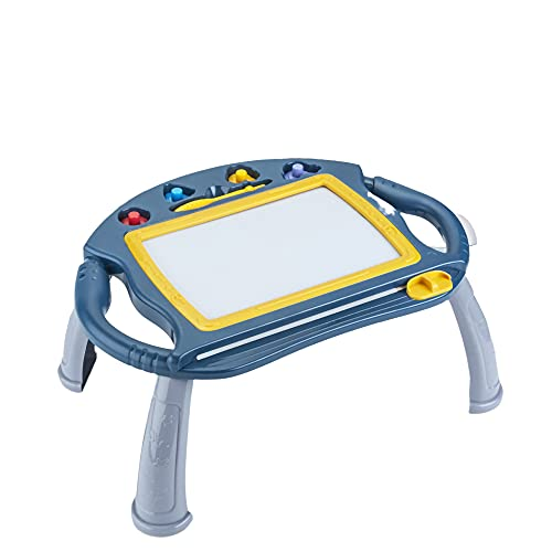 WULAU Pizarra Magnética Infantil,Almohadilla Borrable de Escritura y Dibujo,Grande Color Magnético Doodle Sketch Pad,Juguetes Niños NoTóxico para Niños Infantiles