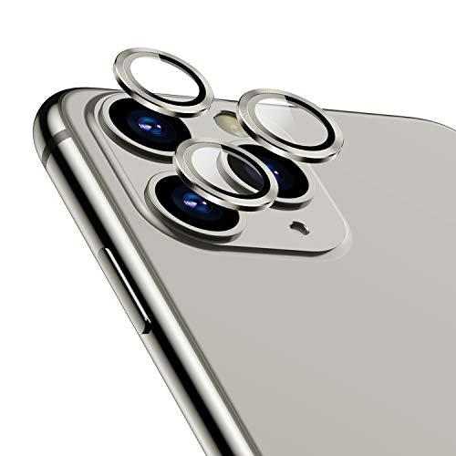 TAMOWA Protector Cámara para iPhone 11 Pro/iPhone Pro MAX, Protector