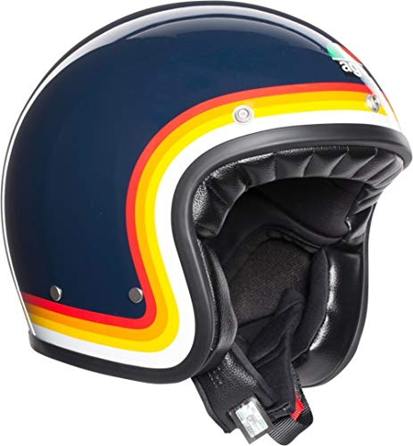 CASCO X70 AGV MULTI - RIVIERA BLUE/RAINBOW S