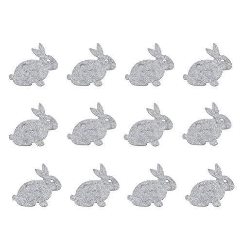 VALICLUD 2 stücke Niedlichen Kaninchen Form Candy Bag Bunny und Druck Geschenk Beutel Kreative Süße Lagerung Inhaber Tragbare Einkaufstasche Ostern Lieferungen (Grün und Lila)