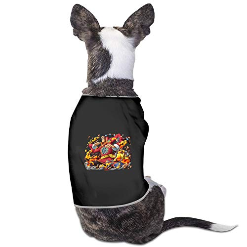Vdaras Camisas para perros Scratchmen Apoo AKA Roar O-N-E-Piece Ropa para perros pequeños y gatos