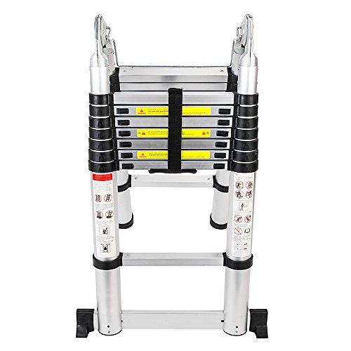 1. Senrob Aluminium Telescopic Extension Ladder