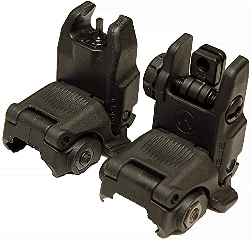 Mbus Flip Sight Set Front and Rear Back-Up Sight Kit – Gen...