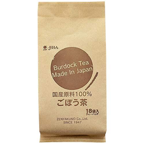 ゼンヤクノー クラフトシリーズ 国産原料100%ごぼう茶 18包入