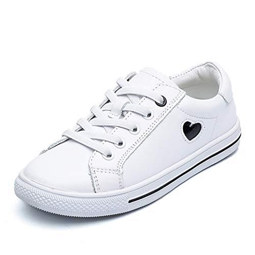 Feidaeu Kinder Casual Schuhe 2019 Herbst Jungen und mädchen weiße Schuhe Lederschuhe Bequeme Anti rutsch Riemen niedrig, um Sneakers lässige studentenschuhe zu helfen