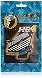 HeadBlade Men's HB4 Refill Shaving Razor Blades (4 Blades)