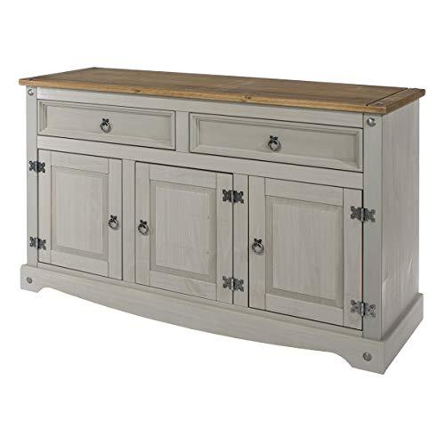 Wood Buffet Sideboard Corona Gra...