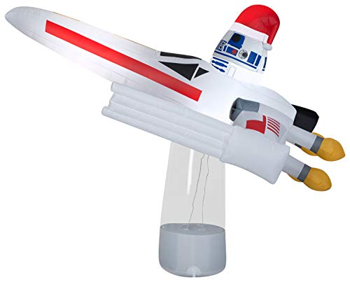 Star Wars R2-D2 in X-Wing Fighter Christmas Inflatable