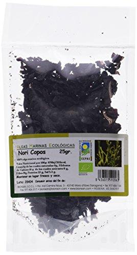 Bionsan Alga Nori en Copos | Ecológica | Sushi | Ensaladas | Bolsa 25gr
