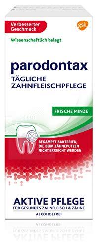 Parodontax Mundspülung Frische Minze, zur täglichen Zahnfleischpflgege, 300ml