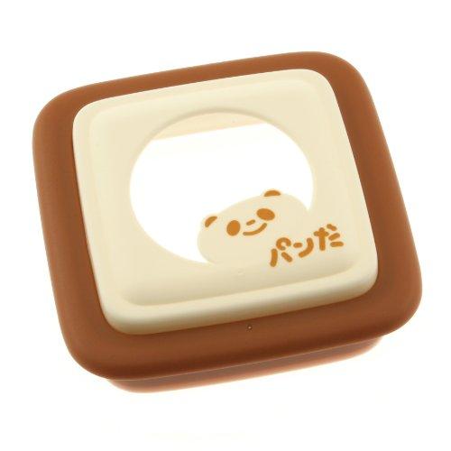 Kotobuki Panda Sandwich Mold, Brown Square