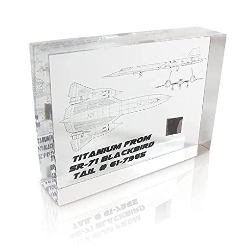 SR-71 Titanium Specimen, Blackbird Spy Plane, Model, Poster, Sample
