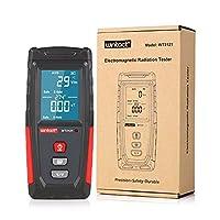 計測機器 ディジタル EM テスター電磁界放射線検出器テスターEMFメーターハンドヘルド携帯用放出線量計 EM テスター (Color : WT3121-WIN-GB)