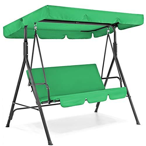 Yagosodee Cubierta para Muebles de Jardín Cubierta Protectora para Muebles Impermeables para Patio Exterior Cubierta para Columpios (Verde)
