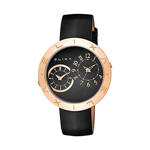 Elixa Reloj Analog-Digital para Womens de Automatic con Correa en Cloth S0318869