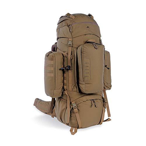 Tasmanian Tiger TT Range Pack MK II 90+10 Trekking-Rucksack Molle-Kompatibel mit abnehmbarem Daypack-Rucksack, Coyote Brown