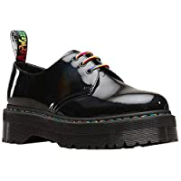 Durable PU-coated patent leather upper with rainbow, holographic-effect finish Breathable leather and textile lining for healthy in-shoe climate Non-removable, padded and textile lined insole for underfoot support Goodyear welt construction for durab...