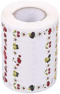 Lot de 500 étiquettes autocollantes telles que confiture, confiture 6,5 x 4 cm pour les autocollants de verre, idéal pour ...