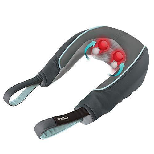 HoMedics Nacken- und Schultermassagegerät, Massagekissen mit Vibation, Multifunktions Lösung bei Schmerzen und Verspannungen, Entspannen und Erholen, Beruhigende Wärme, Leicht zu bedienen