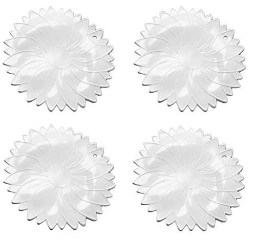 NORPRO 597 Non-Slip Rubber Jar Opener, White, Sold as 4 Pack