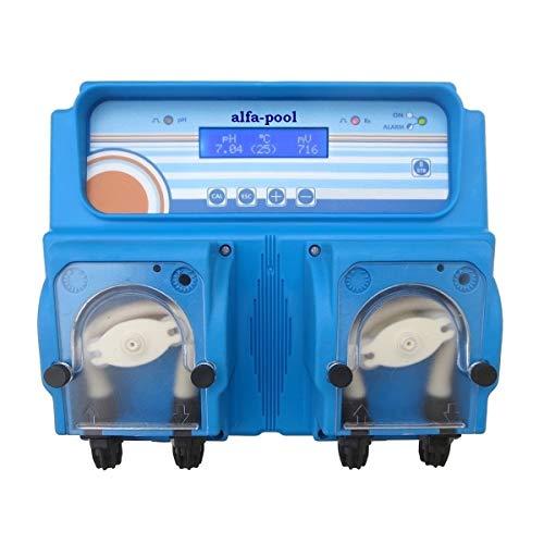 alfa-pool Mess- und Regelgerät pH/Redox compact PSP I für pH-Wert/ Desinfektion im Schwimmbad, Whirlpool