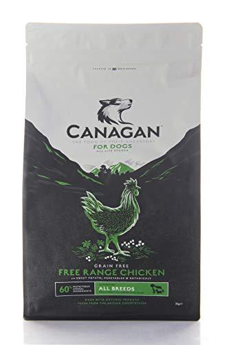 カナガン ドッグフード チキン (2kg) 全犬種 全年齢 対応 プライム対応 すぐお届け グレインフリー 穀物 香料 着色料 不使用