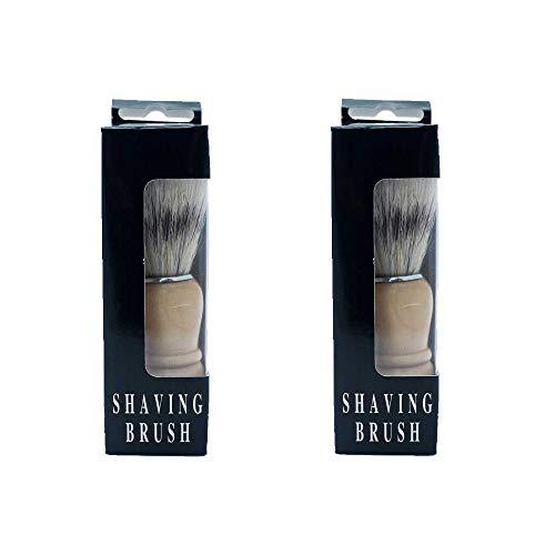 Pack de 2, brocha de afeitar