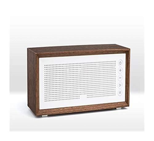 BLU-Ray Vintage Madera subwoofer inalámbrico Bluetooth Altavoz al Aire Libre Altavoz de la Tarjeta Portable 20W MP3 subwoofer Soporta Alta Potencia de Radio FM HD