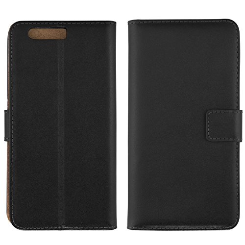 Tasche Bookstyle Case kompatibel mit Huawei Y5 II Hülle Handytasche Case Wallet, schwarz - 4