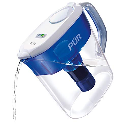 PUR PPT111W Ultimate Filtration Water Filter Pitcher, 11 Cup, White