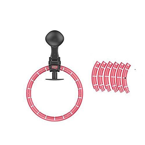 XALO Hula Hoop, Smart-Hula Hoop Tragbare Indoor Fitnessgeräte Bluetooth Lautsprecher-Funktion mit farbigem Licht, Abnehmbarer Einstellbare Size Home-Aerobic-Übung