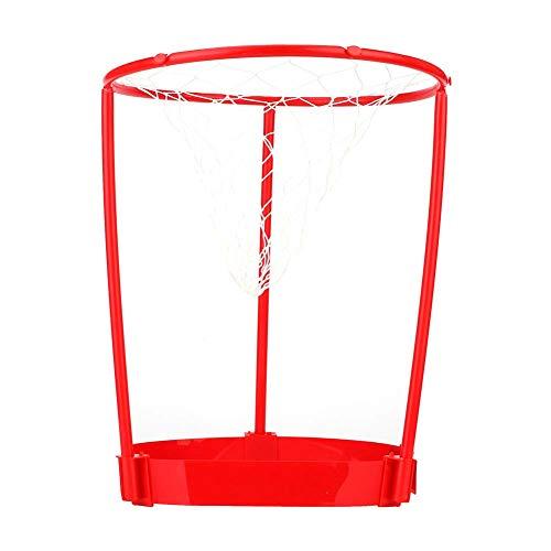 Yisenda Pelota de Baloncesto con Cabeza de aro, 20 Bolas, Bola de Cabeza de aro Firme, para Exterior, hogar, Interior(Overhead Basketball)