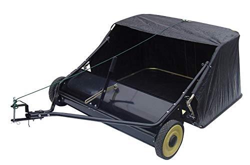 SECURA Rasenkehrmaschine Kehrmaschine Arbeitsbreite 96 cm kompatibel mit Honda-Traktor Rasentraktor