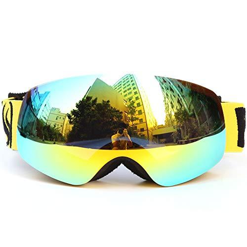 HUATXING Kid Skibrille Sphärische Anti-Fog Linsen Snowboard Skibrille Klettern Brillen,K2