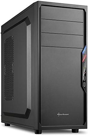 Sharkoon VS4-W - Caja de Ordenador, PC Gaming, Semitorre ATX, Negro: Sharkoon: Amazon.es: Informática