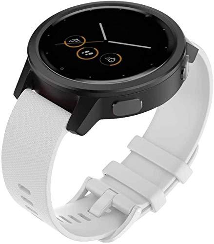 Shieranlee para Polar Vantage m,amazfit GTR 47mm,amazfit Pace,AMAZFIT Stratos Correa,22mm Correa de Repuesto de Silicona de para Samsung Gear S3 Frontier/S3 Classic Smart Watch
