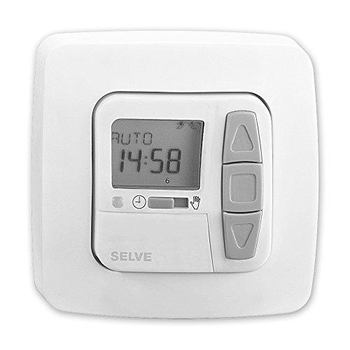 i-R Timer Plus, Funk Zeitschaltuhr, mit Astro-Sonnenschutz- & Dämmerungsfunktion möglich, Urlaubsfunktion, Beschattung oder Lüftung möglich, SELVE, Art.: 298700 + GRATIS EVEROXX-Phasenprüfer
