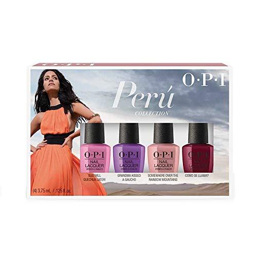 OPI Nagellack Peru Collection  Mini-Set,1er Pack (4 x 3.75 ml)