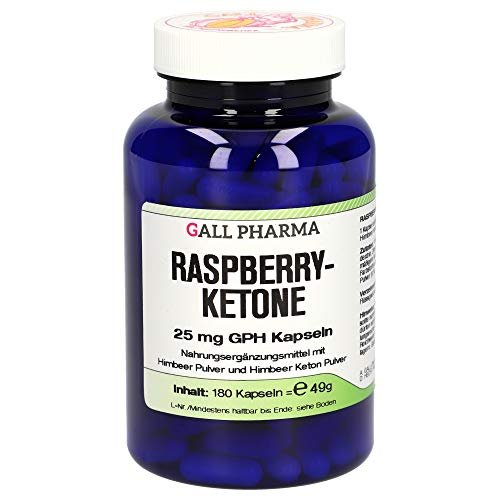 Gall Pharma Raspberryketone 25 mg GPH Kapseln, 180 Kapseln