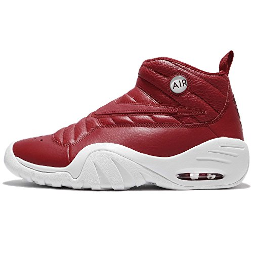 Nike Air Shake Ndestrukt, Zapatillas de Gimnasia para Hombre, Rojo (Gym Red/Gym Red/Summit White/Port), 43 EU
