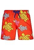 VILEBREQUIN Bañador con Estampado Tortues Multicolores para niño - Nispero - 12ANS