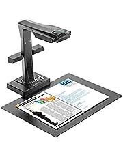 CZUR ET16 Plus Book & Document Scanner with Smart OCR for Mac and Windows, Patented Laser Auto-Flatten & Deskew Technology, Convert to PDF/Searchable PDF/Word/Tiff/Excel - Belge Tarayıcı