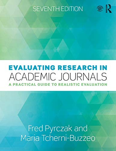 Download Evaluating Research in Academic Journals 0815365667