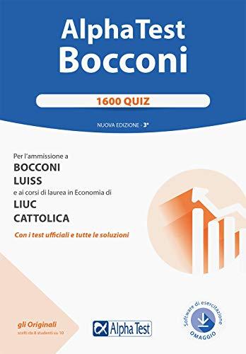 Alpha Test. Bocconi. 1600 quiz
