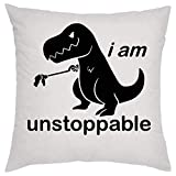 I Am Unstoppable Dino Kissen Pillow -