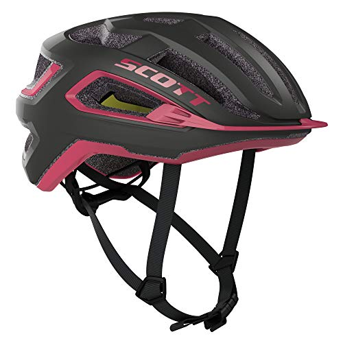 Scott Arx Plus MIPS 2020 - Casco para bicicleta, color gris y rosa