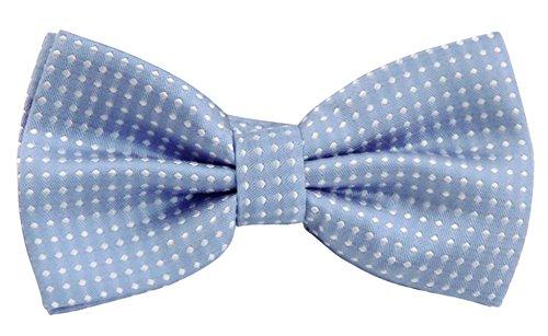 Panegy Nœud Papillon Cravate lavallière Homme Soirée Businesse Mariage Cérémonie Déco Fête Costume Bow Tie en Coton mélange Classique pour Complet 6 *