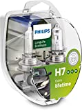 Philips automotive lighting 12972LLECOS2 - Fanale LongLife EcoVision H7, 2 pezzi.